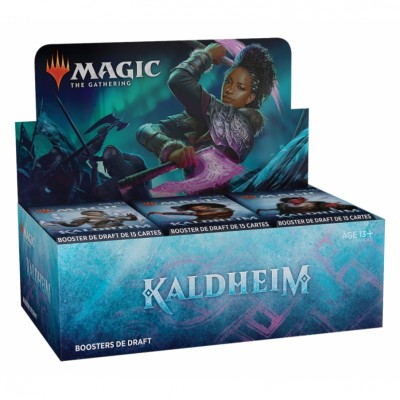 Boite de Boosters Magic the Gathering Kaldheim - 36 Boosters de Draft