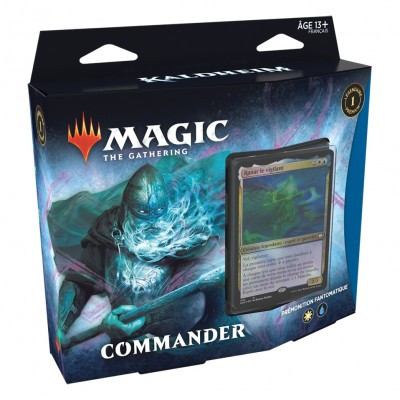 Deck Magic the Gathering Kaldheim - Commander - Prémonition Fantomatique