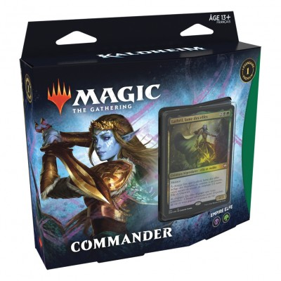 Deck Magic the Gathering Kaldheim - Commander - Empire Elfe