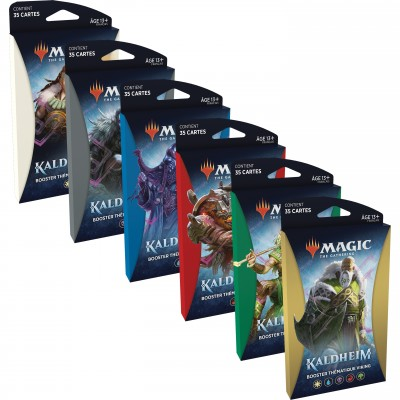 Booster Magic the Gathering Kaldheim - Boosters Thématiques - Lot de 6