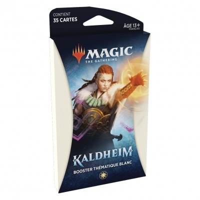 Booster Magic the Gathering Kaldheim - Booster Thématique Blanc