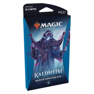 Booster Magic the Gathering Kaldheim - Booster Thématique Bleu