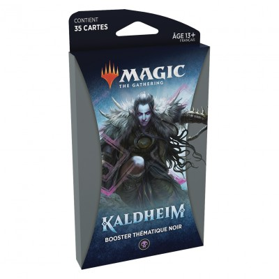 Booster Magic the Gathering Kaldheim - Booster Thématique Noir
