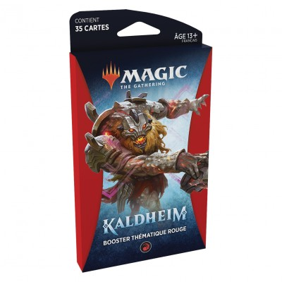 Booster Magic the Gathering Kaldheim - Booster Thématique Rouge