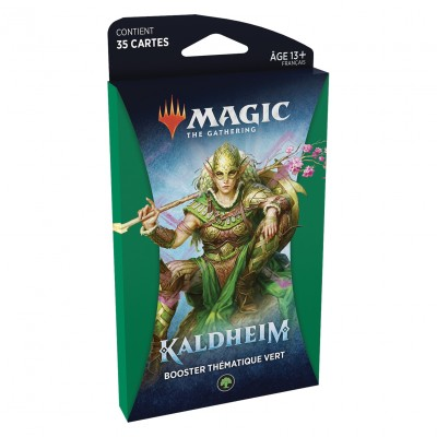 Booster Magic the Gathering Kaldheim - Booster Thématique Vert