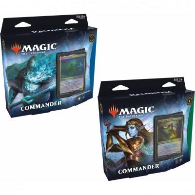 Deck Magic the Gathering Kaldheim - Commander - Lot de 2 différents