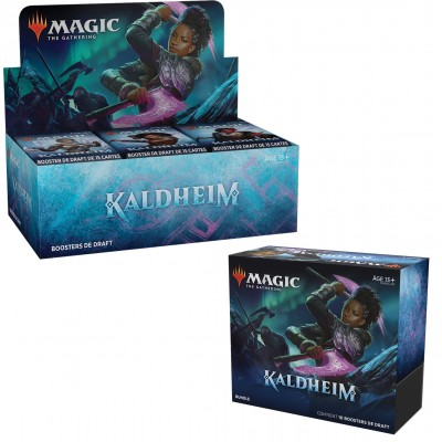 Offres Spéciales Magic the Gathering Kaldheim  - Small Pack : Boite VF + Bundle VF