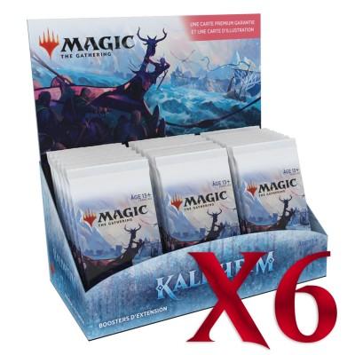 Boite de Boosters Magic the Gathering d'Extension - Kaldheim - Lot de 6