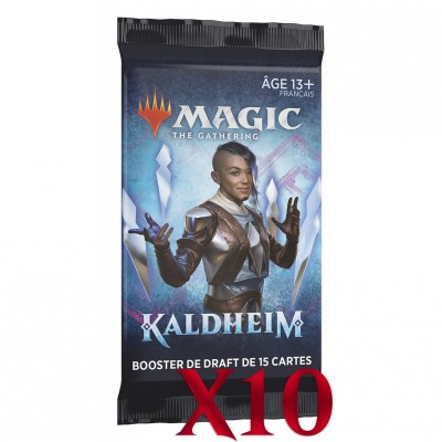 Booster Magic the Gathering Kaldheim - Booster de draft - Lot de 10