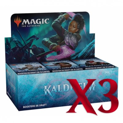 Boite de Boosters Magic the Gathering de Draft - Kaldheim - Lot de 3