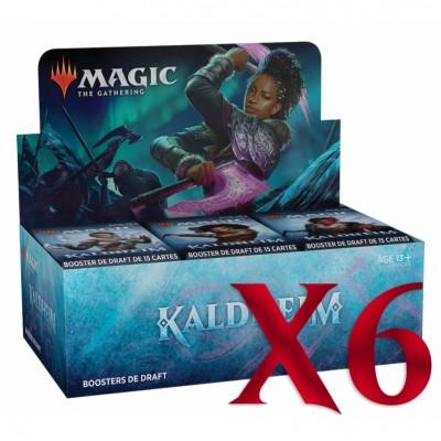 Boite de Boosters Magic the Gathering de Draft - Kaldheim - Lot de 6