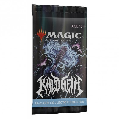 Booster Magic the Gathering Kaldheim - Collector Booster