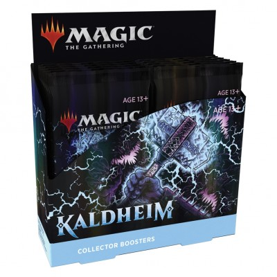 Boite de Boosters Magic the Gathering Kaldheim - 12 Collector Boosters