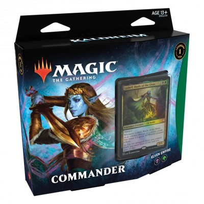 Deck Magic the Gathering Kaldheim - Commander - Elven Empire