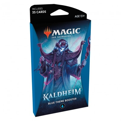 Booster Magic the Gathering Kaldheim - Blue Theme Booster