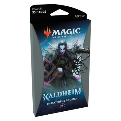 Booster Magic the Gathering Kaldheim - Black Theme Booster