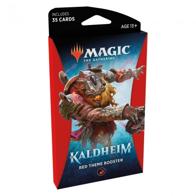 Booster Magic the Gathering Kaldheim - Red Theme Booster