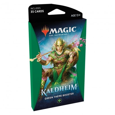 Booster Magic the Gathering Kaldheim - Green Theme Booster