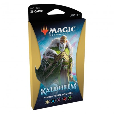 Booster Magic the Gathering Kaldheim - Viking Theme Booster