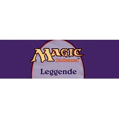 Collection Complète Magic the Gathering Legends - Set complet en italien
