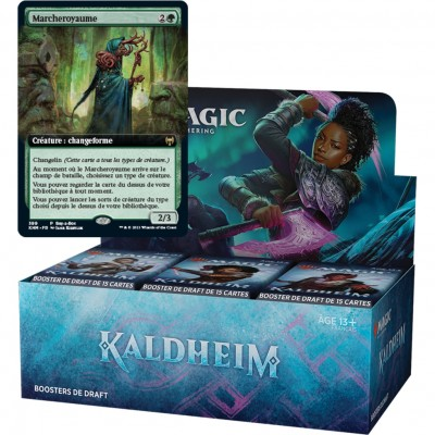 Boite de Boosters Magic the Gathering Kaldheim - 36 Boosters de Draft + Carte Buy a Box Marcheroyaume