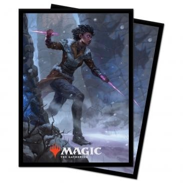 Protèges Cartes illustrées Magic the Gathering Kaldheim - Kaya the Inexorable