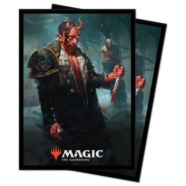 Protèges Cartes illustrées Magic the Gathering Kaldheim - Tibalt, Cosmic Imposter