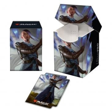 Boite de rangement illustrée Magic the Gathering Kaldheim - Deck Box 100+  Niko Aris