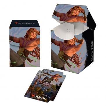 Boite de rangement illustrée Kaldheim - Deck Box 100+  Tyvar Kell