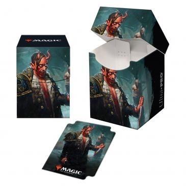 Boite de Rangement Magic the Gathering Kaldheim - Deck Box 100+ Tibalt, Cosmic Imposter