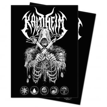 Protèges Cartes illustrées Kaldheim - Metal