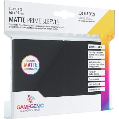 Protèges Cartes  100 Pochettes - Prime Matte - Noir