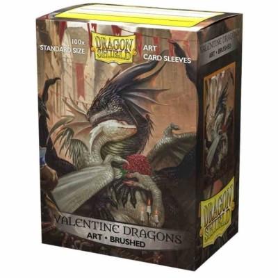 Protèges Cartes illustrées 100 pochettes - Valentine Dragon 2021