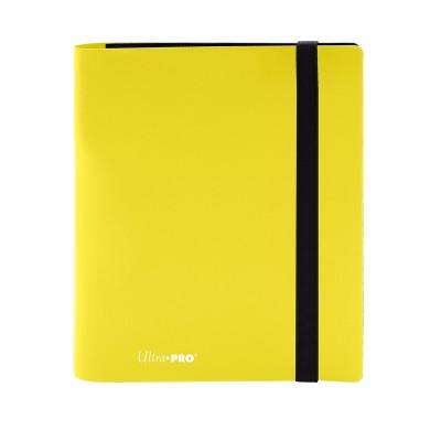 Portfolio  A5 Pro-Binder - Eclipse - 20 pages de 8 cases (160 cartes recto-verso) -Lemon Yellow