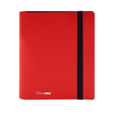 Portfolio  A5 Pro-Binder - Eclipse - 20 pages de 8 cases (160 cartes recto-verso) - Apple Red