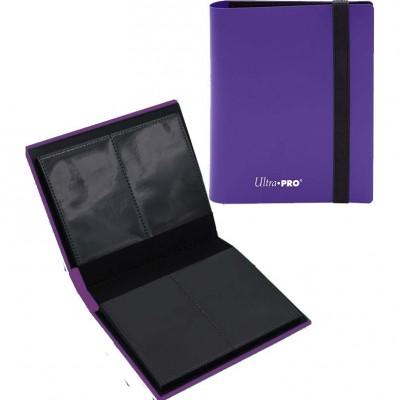 Portfolio  A6 Pro-Binder - ECLIPSE - 20 pages de 2 cases (80 cartes recto-verso) - Royal Purple