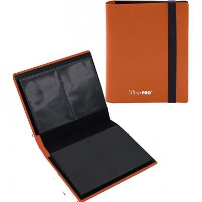 Portfolio  A6 Pro-Binder - ECLIPSE - 20 pages de 2 cases (80 cartes recto-verso) - Pumpkin Orange
