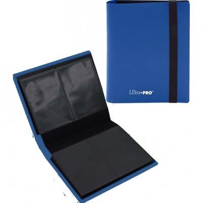Portfolio  A6 Pro-Binder - ECLIPSE - 20 pages de 2 cases (80 cartes recto-verso) - Pacific Blue