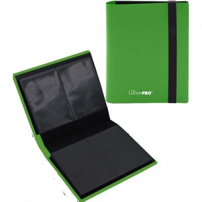 Portfolio  A6 Pro-Binder - Eclipse - 20 pages de 4 cases (80 cartes recto-verso) - Lime Green