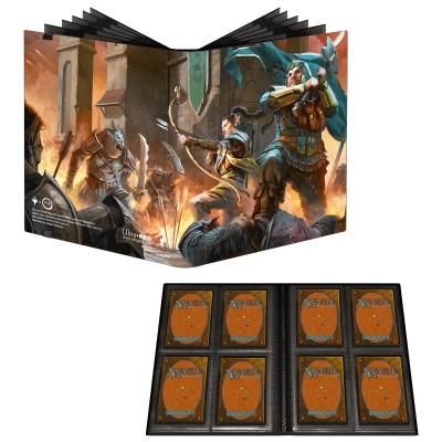 Portfolio  A6 Pro-Binder - ECLIPSE - 20 pages de 2 cases (80 cartes recto-verso) - Lemon Yellow