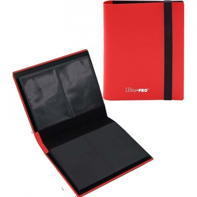 Portfolio  A6 Pro-Binder - Eclipse - 20 pages de 4 cases (80 cartes recto-verso) - Apple Red