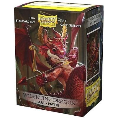 Protèges Cartes illustrées  100 pochettes - Valentine Dragon 2020