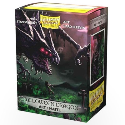 Protèges Cartes illustrées 100 pochettes - Halloween Dragon 2020