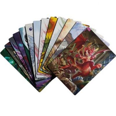 Boite de Rangement Card Dividers - 6 Séparateurs de Cartes avec Illustration de Dragons