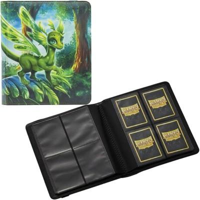 Portfolio  A5 - CARD CODEX - 20 pages de 4 cases (160 cartes recto-verso) - Olive Peah