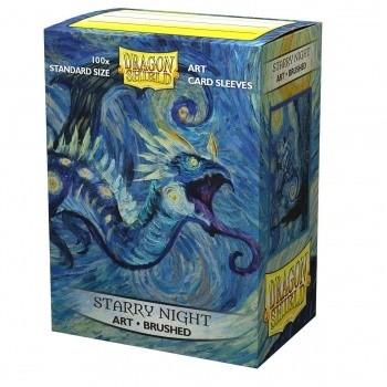 Protèges Cartes illustrées 100 pochettes - Starry Night