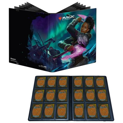 Portfolio Magic the Gathering Pro-binder - 20 pages de 9 cases (360 cartes recto-verso) - Kaldheim