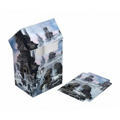 Boite de rangement illustrée  Deck Case - Lands Edition II Île