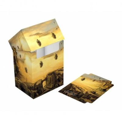 Boite de rangement illustrée  Deck Case - Lands Edition II Plaine
