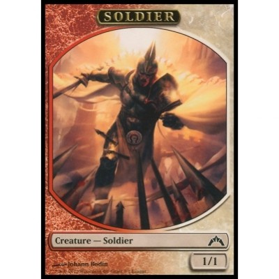 Token Magic Magic the Gathering Token/Jeton Promo - Insurrection - Soldat